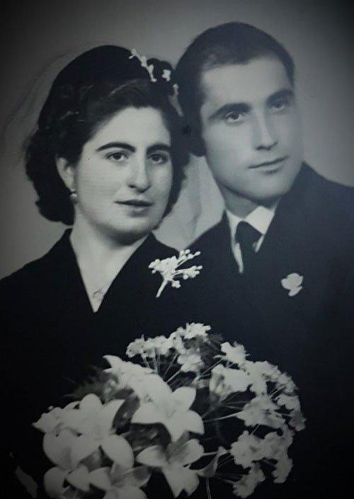 Foto boda de abuelos